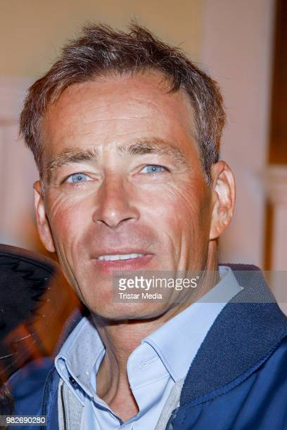Jan Sosniok during the 'Winnetou und das Geheimnis der Felsenburg' premiere on June 23 2018 in Bad Segeberg Germany The Karl May Festival will take...