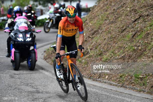 Jan Tratnik of Slovenia and Team Bahrain - Mclaren / Breakaway / during the 103rd Giro d'Italia 2020, Stage 16 a 229km stage from Udine to San...