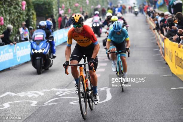 Jan Tratnik of Slovenia and Team Bahrain - Mclaren / Manuele Boaro of Italy and Astana Pro Team / Breakaway / during the 103rd Giro d'Italia 2020,...