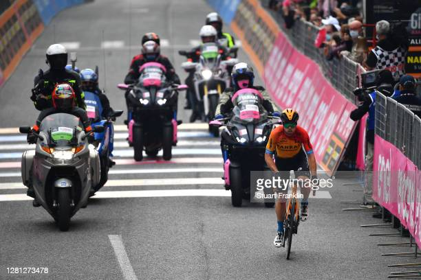 Jan Tratnik of Slovenia and Team Bahrain - Mclaren / San Daniele Del Friuli Village / during the 103rd Giro d'Italia 2020, Stage 16 a 229km stage...
