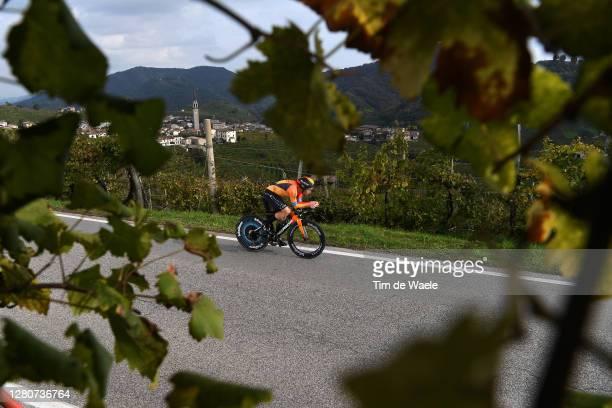 Jan Tratnik of Slovenia and Team Bahrain - Mclaren / Santo Stefano Village / Vineyards / Landscape / during the 103rd Giro d'Italia 2020, Stage 14 a...