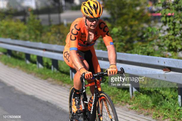 Jan Tratnik of Slovenia and Team Ccc Sprandi Polkowice / during the 75th Tour of Poland 2018 Stage 4 a 1787km from Jaworzno to Szczyrk 643m on August...