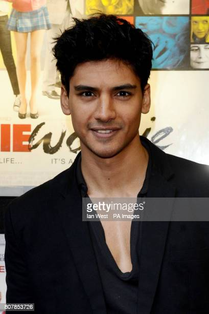Jan Uddin arrive for the gala screening of new film Boogie Woogie at the Prince Charles cinema in London Picture date Tuesday April 13 2010