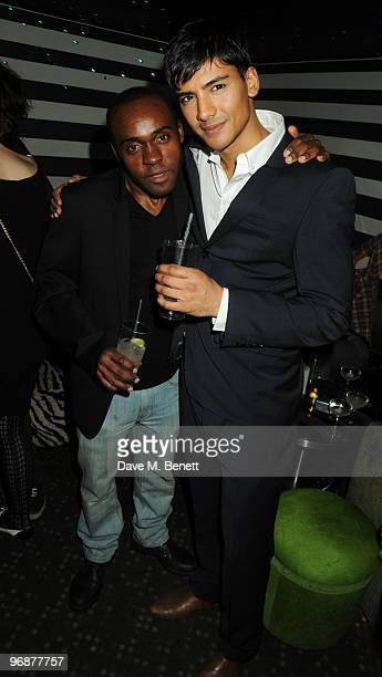 Jan Uddin attends the Sass Bide party following their LFW catwalk show at Bungalow 8 on February 19 2010 in London England