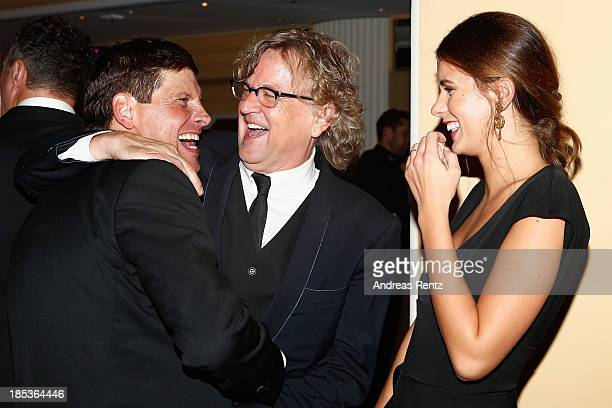 Jan Ullrich Martin Krug and partner Julia Trainer attend the 7th Audi Generation Award 2013 at Hotel Bayerischer Hof on October 19 2013 in Munich...