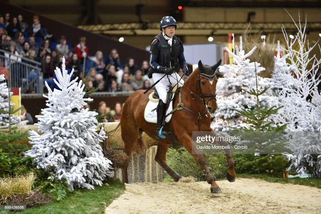 Jan van BEEK, of Netherlands, riding Vamp du Monselet, during the Cross Indoor sponsored by Tribune de Genève , Rolex Grand Slam Geneva 2017