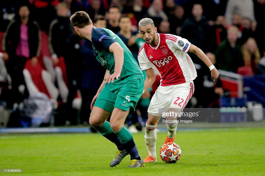 Ajax v Tottenham Hotspur - UEFA Champions League : News Photo