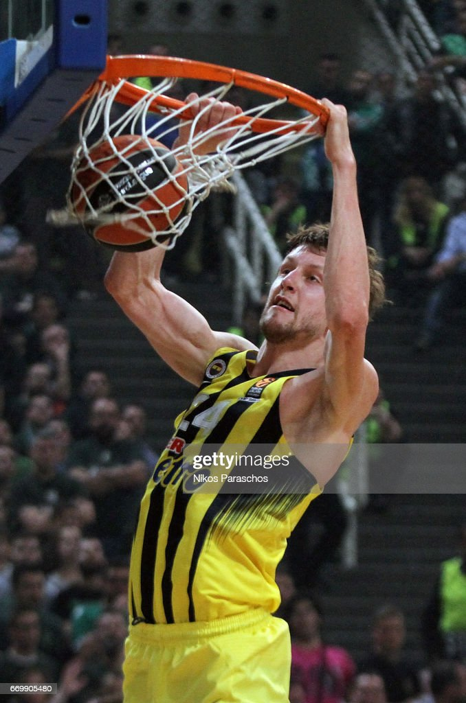 Panathinaikos Superfoods Athens v Fenerbahce Istanbul - Turkish Airlines Euroleague Play Off Leg One