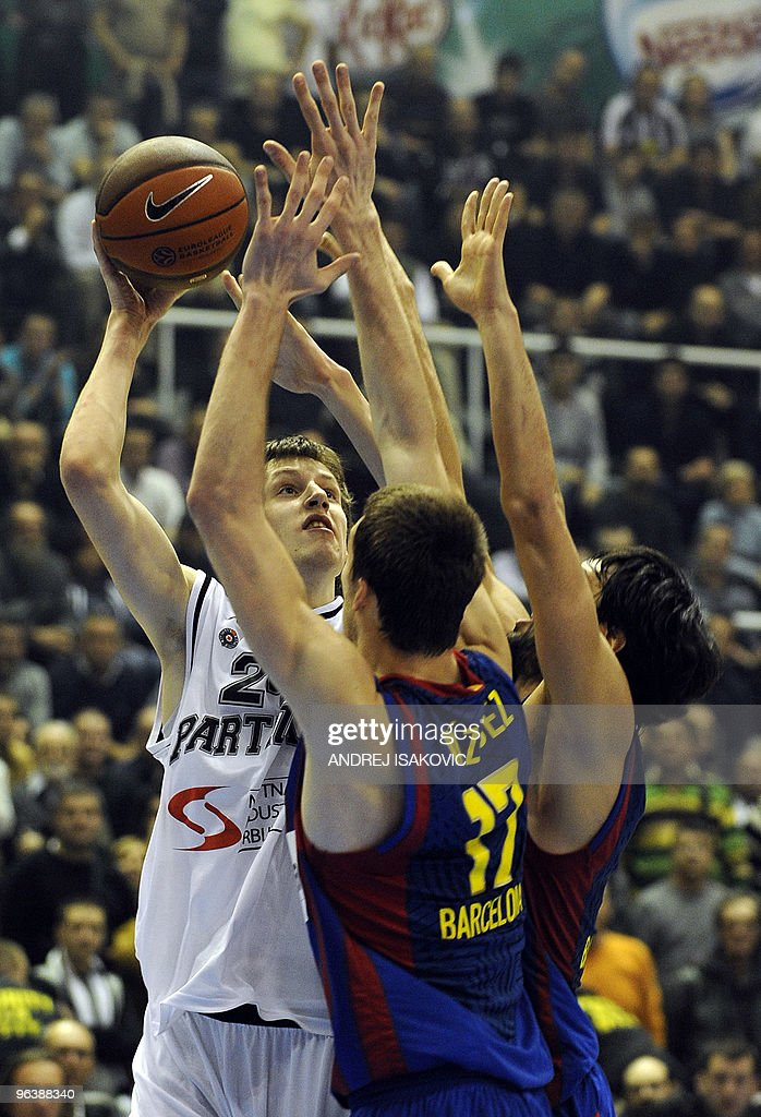 Jan Vesely Of Partizan Belgrade L Comp Pictures Getty Images