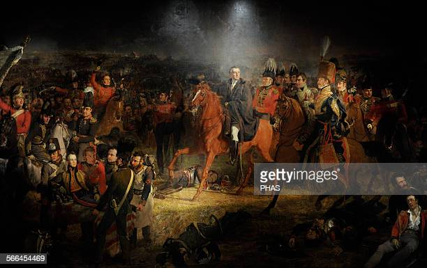 Jan Willem Pieneman Dutch painter The Battle of Waterloo 1824 Rijksmuseum Amsterdam Netherlands