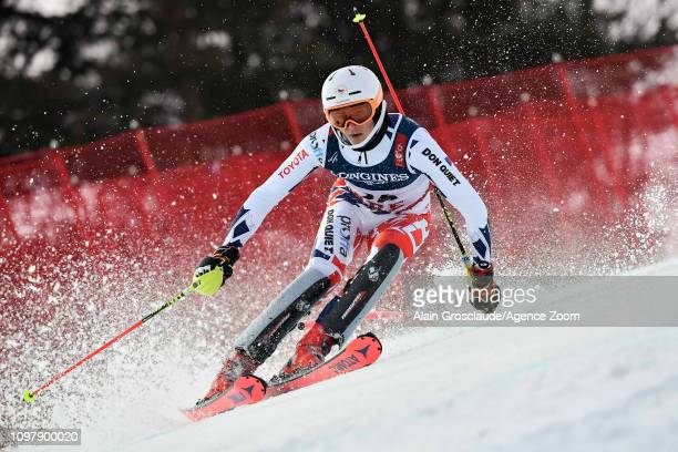 Jan Zabystran of Czech Republic competes during the FIS World Ski Championships Men's Alpine Combined on February 11 2019 in Are Sweden