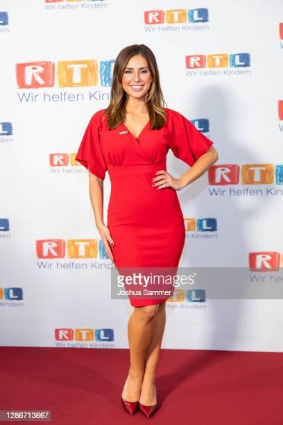 Jana Azizi during the 25th RTL Telethon on November 19, 2020 in Huerth, Germany.