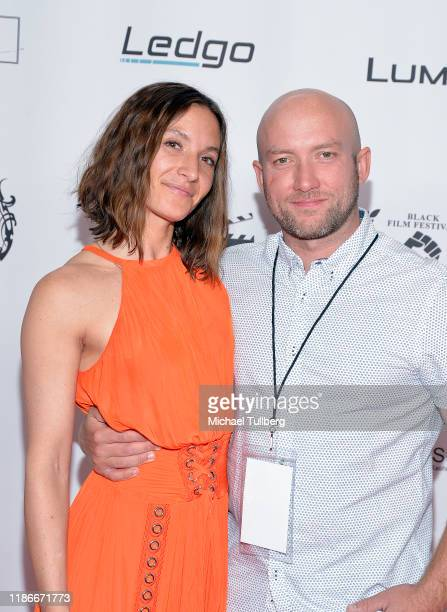 Jana DeVino and Matt DeVino attend the Kash Hovey and Friends Film Block at Film Fest LA at Regal Cinemas LA LIVE Stadium 14 on November 09 2019 in...