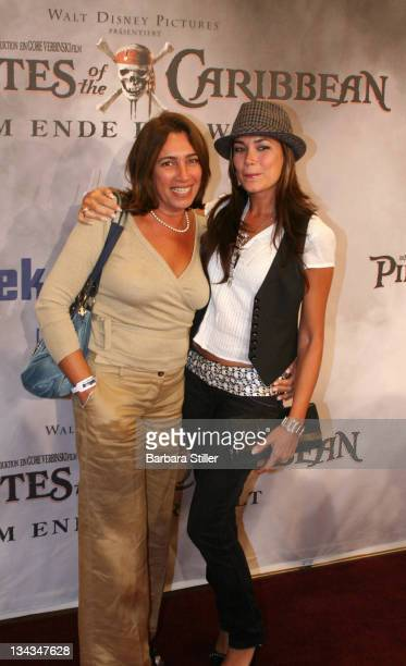 Jana Ina and Mother Greta Vizeu during Gala Screening Pirates of the Caribbean at Peek Cloppenburg at Weltstadthaus P C in Cologne Cologne Germany