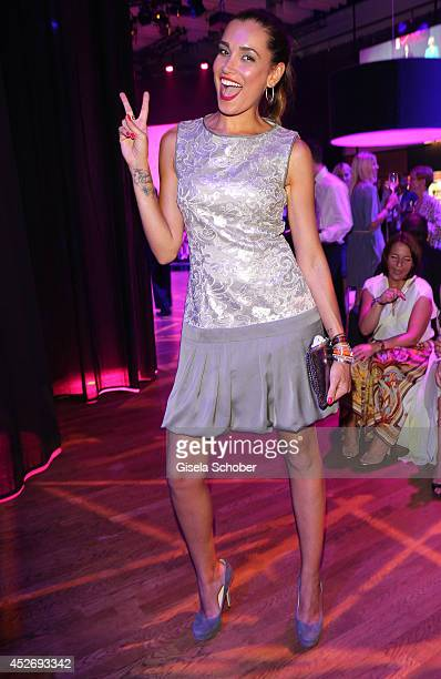 Jana Ina attends the New Faces Award Fashion 2014 on July 25 2014 in Duesseldorf Germany