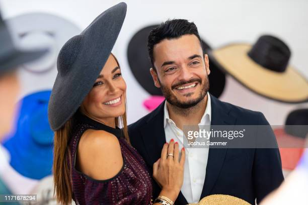 Jana Ina Zarella and Giovanni Zarella attend the 147th Longines Grosser Preis von Baden on September 01 2019 in BadenBaden Germany