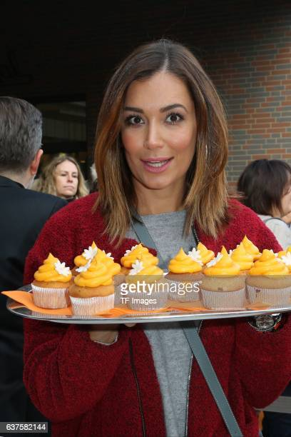 Jana Ina Zarella attend the opening of the City Outlet Geislingen on October 27 2016 in Geislingen Germany
