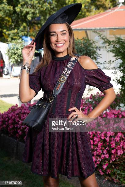 Jana Ina Zarella attends the 147th Longines Grosser Preis von Baden on September 01 2019 in BadenBaden Germany