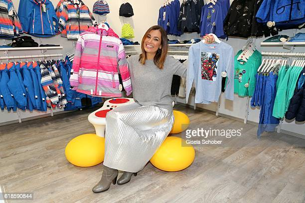 Jana Ina Zarella during the opening of the City Outlet Geislingen on October 27 2016 in Geislingen Germany