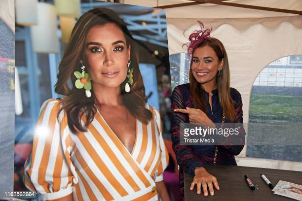 Jana Ina Zarrella attends the Audi Ascot Race Day at Neue Bult horse racing track on August 18 2019 in Langenhagen Germany