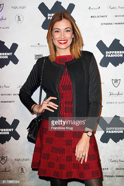 Jana Ina Zarrella attends the Different Fashion Big Shot Party 2016 on March 24 2016 on Sylt Germany