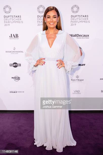 Jana Ina Zarrella attends the Duftstars 2019 at Rheinterrasse on May 09 2019 in Duesseldorf Germany