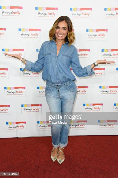 Jana Ina Zarrella attends the Ernsting's Family Fashion Show at Stage Operettenhaus on June 26 2017 in Hamburg Germany