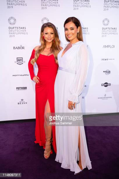 Jana Julie Kilka and Jana Ina Zarrella attend the Duftstars 2019 at Rheinterrasse on May 09 2019 in Duesseldorf Germany