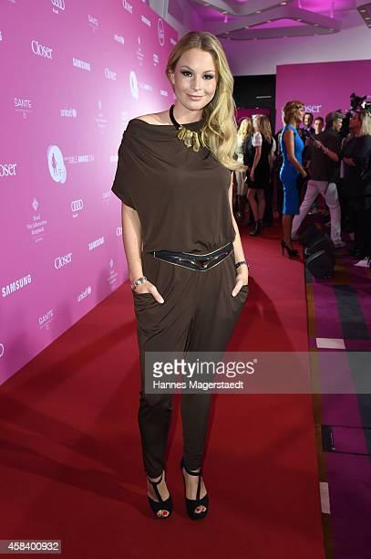 Jana Julie Kilka attends the 'CLOSER Magazin Hosts SMILE Award 2014' at Hotel Vier Jahreszeiten on November 4 2014 in Munich Germany
