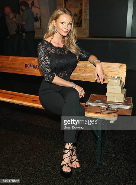 Jana Kilka attends 'The Grand Journey' Project by Bombay Sapphire at WECC on October 31 2016 in Berlin Germany