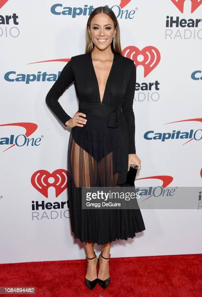 Jana Kramer arrives at the iHeartRadio Podcast Awards Presented By Capital One at iHeartRadio Theater on January 18, 2019 in Burbank, California.