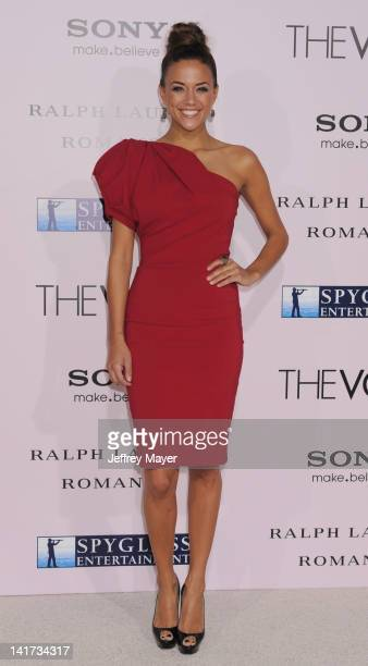 """Jana Kramer arrives at """"The Vow"""" Los Angeles Premiere at Grauman's Chinese Theatre on February 6, 2012 in Hollywood, California."""