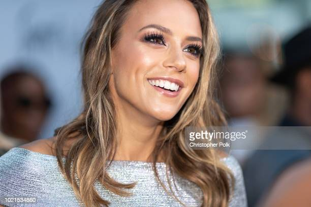"""Jana Kramer arrives to the premiere of Magnolia Pictures' """"Support The Girls"""" at the ArcLight Hollywood on August 22, 2018 in Hollywood, California."""