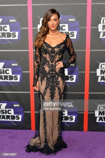 Jana Kramer attends the 2013 CMT Music awards at the Bridgestone Arena on June 5 2013 in Nashville Tennessee