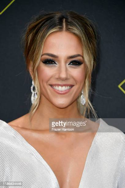 Jana Kramer attends the 2019 E People's Choice Awards at Barker Hangar on November 10 2019 in Santa Monica California