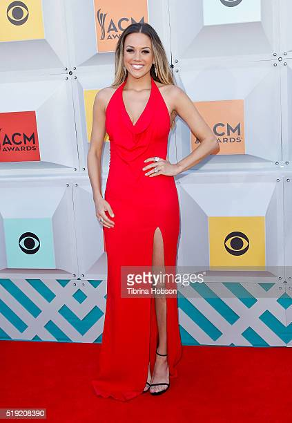 Jana Kramer attends the 51st Academy of Country Music Awards at MGM Grand Garden Arena on April 3, 2016 in Las Vegas, Nevada.