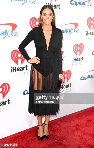 Jana Kramer attends the iHeartRadio Podcast Awards Presented By Capital One at iHeartRadio Theater on January 18 2019 in Burbank California