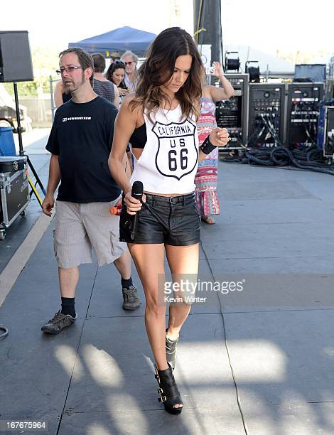 Jana Kramer backstage during 2013 Stagecoach California's Country Music Festival held at The Empire Polo Club on April 27 2013 in Indio California