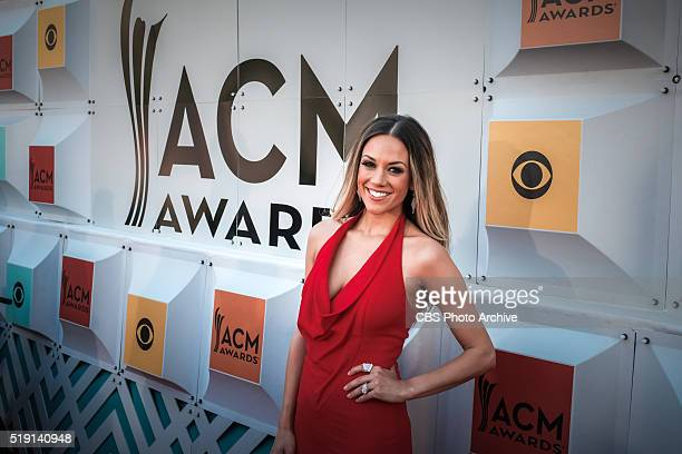 Jana Kramer on The Red Carpet at the 51st ACADEMY OF COUNTRY MUSIC AWARDS cohosted by Luke Bryan and Dierks Bentley from the MGM Grand Garden Arena...