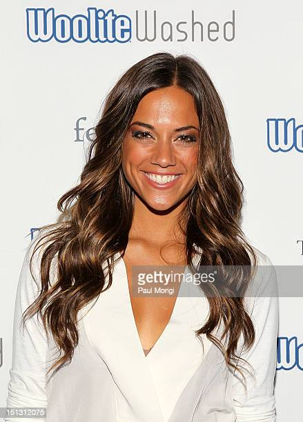 Jana Kramer One Tree Hill attends WooliteWashed Boutique Launch Party on September 5 2012 in New York City