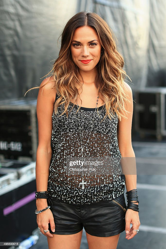 Jana Kramer poses backstage during Rodney Atkins 4th Annual Music City Gives Back on June 3, 2014 in Nashville, Tennessee.