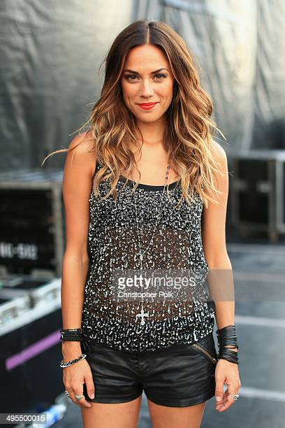 Jana Kramer poses backstage during Rodney Atkins 4th Annual Music City Gives Back on June 3 2014 in Nashville Tennessee