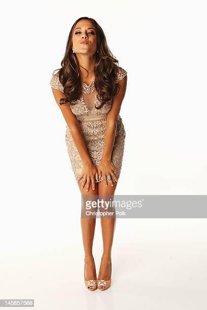 Jana Kramer poses in the Wonderwallcomcom Portrait Studio during 2012 CMT Music awards at the Bridgestone Arena on June 6 2012 in Nashville Tennessee