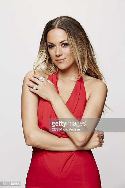 Jana Kramer stops by the CBS Photo Booth during the 51st ACADEMY OF COUNTRY MUSIC AWARDS cohosted by Luke Bryan and Dierks Bentley from the MGM Grand...
