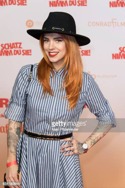 Jana Naima Zerlett attends the premiere of SCHATZ NIMM DU SIE at the Cineplex on February 7 2017 in Cologne Germany
