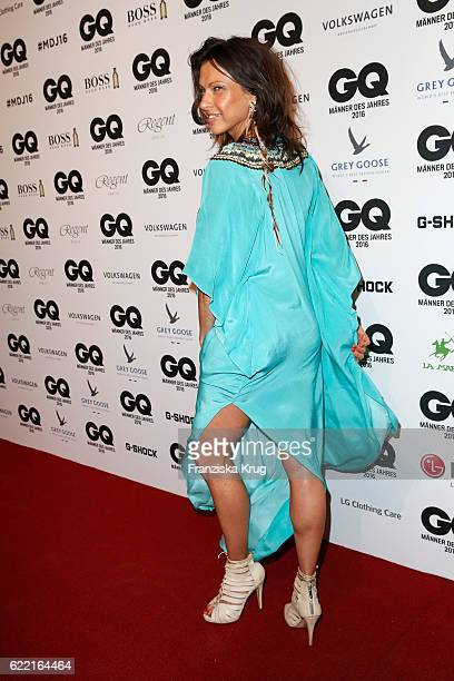 Jana Pallaske arrivea at the GQ Men of the year Award 2016 at Komische Oper on November 10 2016 in Berlin Germany