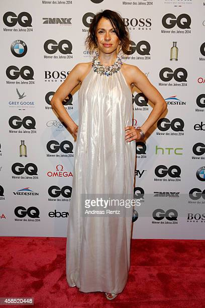 Jana Pallaske arrives at the GQ Men of the Year Award 2014 at Komische Oper on November 6 2014 in Berlin Germany