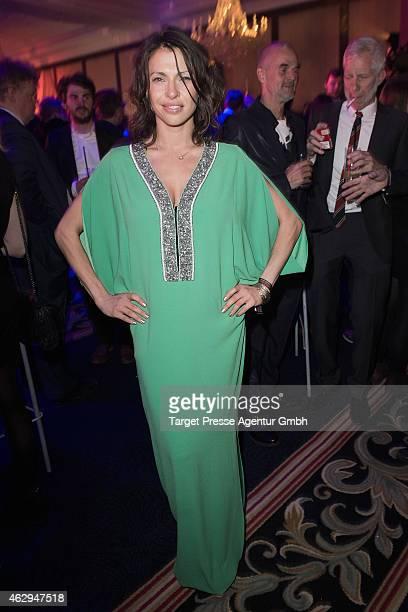 Jana Pallaske attends the Medienboard BerlinBrandenburg Reception at Ritz Carlton on February 7 2015 in Berlin Germany
