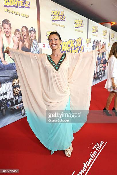 Jana Pallaske during the world premiere of 'Fack ju Goehte 2' at Mathaeser Kino on September 7 2015 in Munich Germany