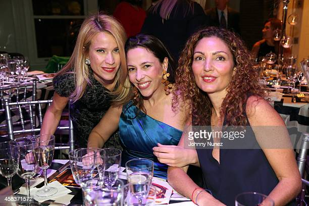Jana Paquel Patricia Diaz and Paola Aboumrad attend the Luz de Luna Piano Violin and Dance Concert at Carnegie Hall on November 3 in New York City